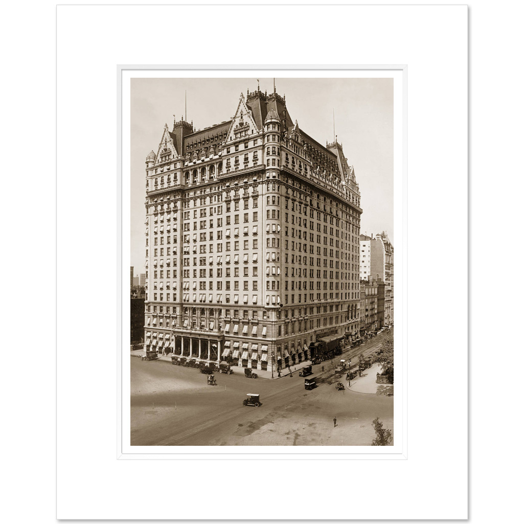 Plaza Hotel, 59th Street,New York City 1912